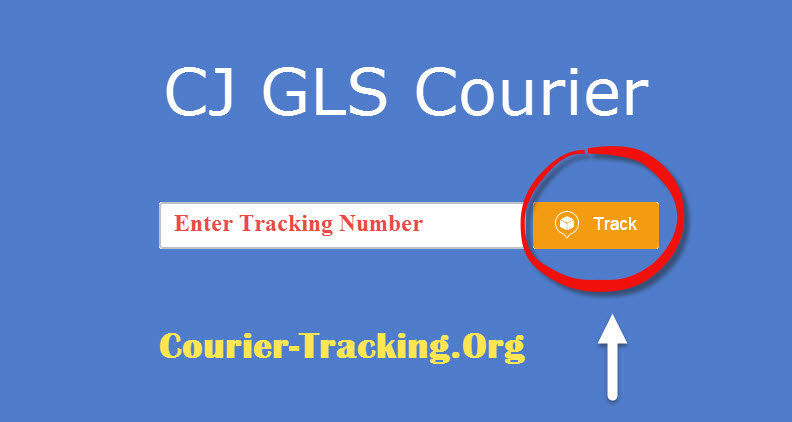 CJ GLS Courier Tracking