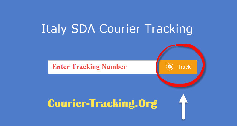 Italy SDA Courier Tracking
