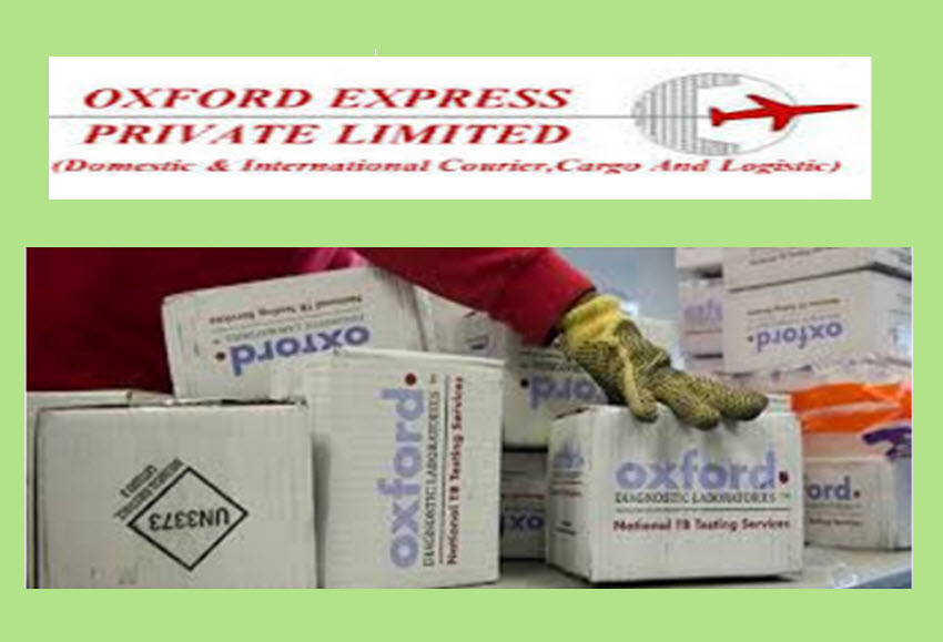Oxford Express Courier Tracking