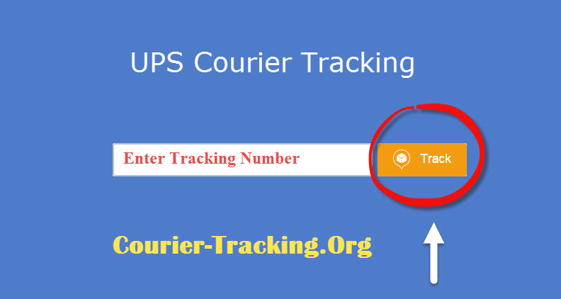 UPS Courier Tracking